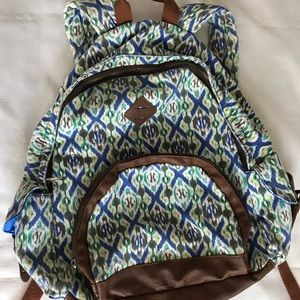 Mad Love Bags - Mad Love Backpack with Tribal Design and pockets